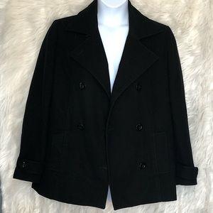 Kim Rogers size 16 Wool Pea Coat